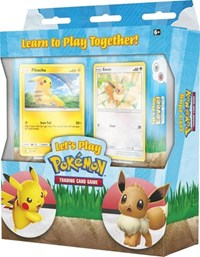 Let's Play Pikachu and Eevee Pokemon TCG Box
