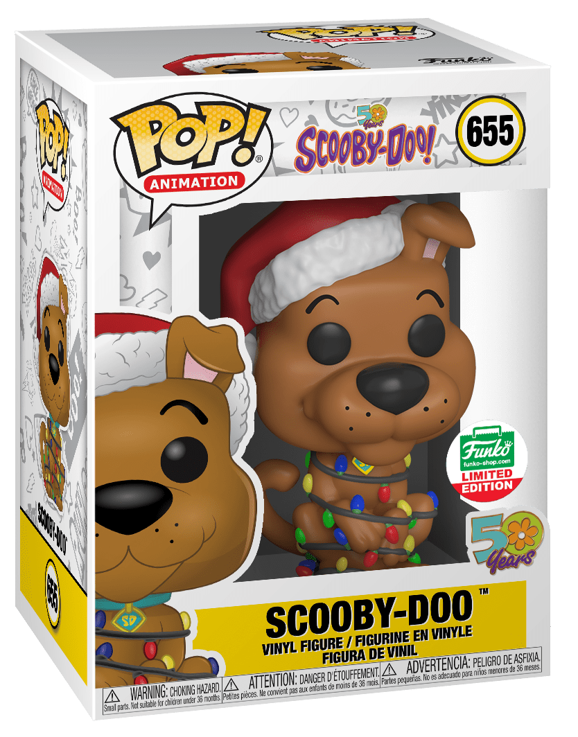 Funko POP! Scooby-Doo w/ Christmas Lights #655 [Cyber Monday Exclusive]