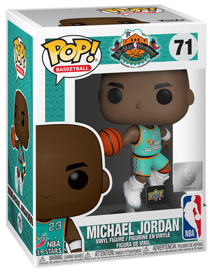 Funko POP! Michael Jordan 1998 All-Star Game Jersey #71 [Upper Deck Exclusive]