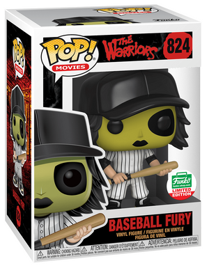 Funko POP! Baseball Fury (Green) The Warriors #824 [Cyber Monday Exclusive]