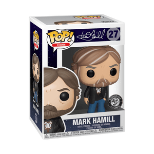 Funko POP! Mark Hamill #27 Black Shirt [DesignerCon Exclusive]