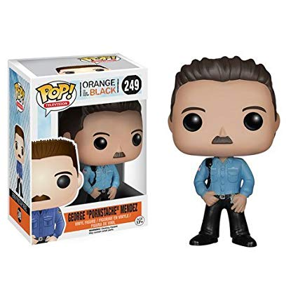 "Funko POP! George ""Pornstache"" Mendez OITB #249 [Vaulted / Retired]"
