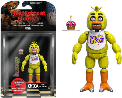 Chica With Mr. Cupcake Five Nights At Freddy's Funko Articulated Action Figure
