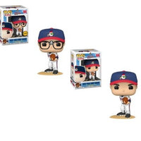 "2x Funko POP! Ricky ""Wild Thing"" Vaughn #886 Major League [Common and Chase Bundle]"
