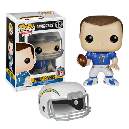 Funko POP! Philip Rivers NFL Chargers Football #12 [Vaulted]