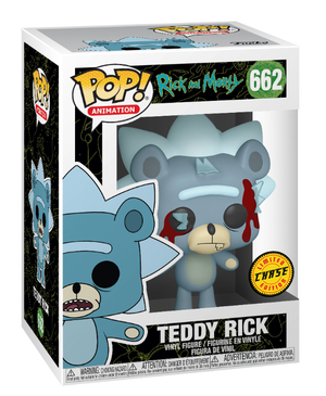 Funko POP! Teddy Rick (Facist) Rick & Morty #622 [Chase Limited]