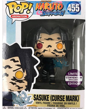 Funko POP! Sasuke (Curse Marks) Naruto Shippuden #455 [Convention Exclusive]