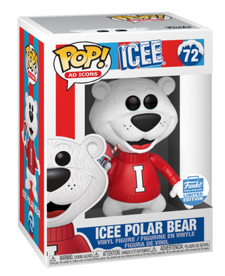 Funko POP! Icee Polar Bear Ad Icons #72 [Cyber Monday Exclusive]