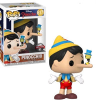 Funko POP! Pinocchio (long nose) with Jiminy Cricket Disney #617 [Special Edition]