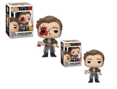 2x Funko POP! Patrick Bateman American Psycho #942 [Common and Chase Bundle]