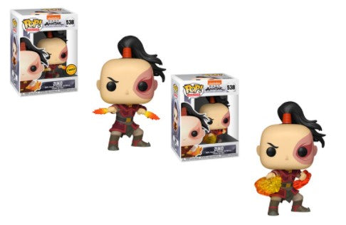 2x Funko POP! Zuko Avatar the Last Airbender #538 [Common and Chase Bundle]