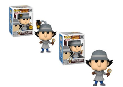 2X Funko POP! Inspector Gadget #892 [Common and Chase Bundle]