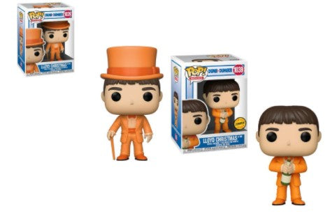 2x Funko POP! Lloyd Christmas in Tux Dumb and Dumber #1039 [Common and Chase Bundle]