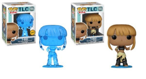 2x Funko POP! T-Boz TLC #195 [Common and Chase Bundle]