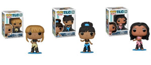 Funko POP! TLC Left Eye, T-Boz, Chilli Common Set