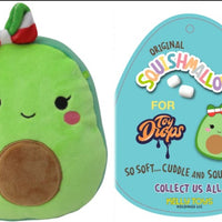 "Squishmallow 7"" Mireya the Avocado Girl With Bow Super Soft Mochi Squishy Plush Toy"