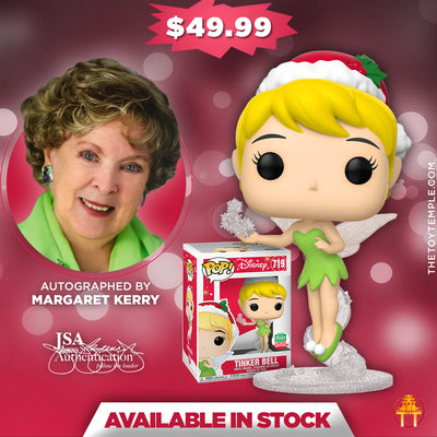 Funko POP! Tinker Bell Disney #719 [Cyber Monday Bundle] (Autographed)