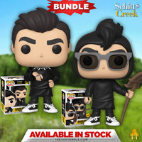 2X Funko POP! David Rose Schitt's Creek #975 [Common and Chase Bundle]
