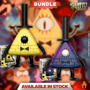2x Funko POP! Bill Cipher #243 Gravity Falls [Common and Chase Bundle]