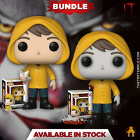 2x Funko POP! Georgie Denbrough Movie: IT #536 [Common and Chase Bundle]