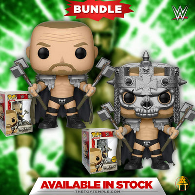 2X Funko POP! Triple H WWE #52 [Common and Chase Bundle]