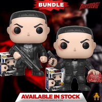 2X Funko POP! Punisher Marvel Daredevil #216 [Common and Chase Bundle]