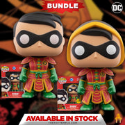 2X Funko POP! Imperial Palace Robin DC Heroes #377 [Common and Chase Bundle]