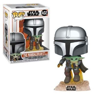 Funko POP! The Mandalorian With The Child Star Wars #402