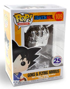 Funko POP! Goku on Flying Nimbus Cloud #109 Dragon Ball Chrome [Funimation Exclusive]