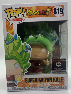Funko POP! Super Saiyan Kale Dragon Ball Super #819 [Chalice Collectibles Exclusive]