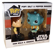 Funko Pop! Star Wars Han Solo and Greedo Salt and Pepper Shakers