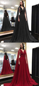 Prom Dresses Beautiful, V Neck Sleeveless Prom Dresses 1155