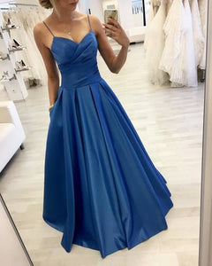 Royal Blue Prom Dress,Charming Evening Dress,Prom Dresses 1606