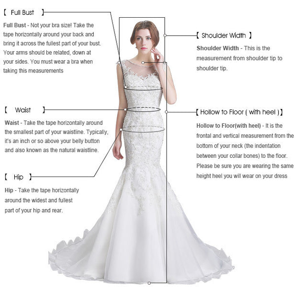 White floral lace V neck long halter wedding dress, senior prom dress,DR2148