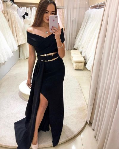 Charming Prom Dress,Off The Shoulder Prom Dress,A-Line Prom Dress,Long Prom Dress,Evening Prom Dress,2221
