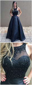 Hot Sale Beautiful Prom Dresses Ball Gown, Prom Dresses Black, Long Prom Dress,2985