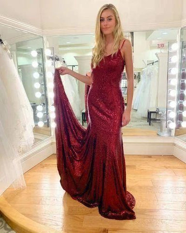Prom dresses 2020,Burgundy Prom Dress,Evening Dress,Prom Dresses ,3346