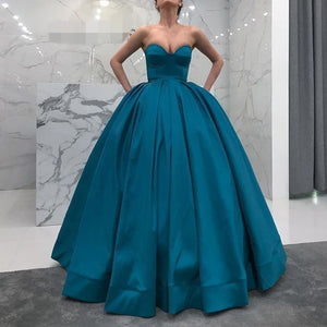 Ball Gown Prom Dress,Sweetheart Formal Dress,Ball Gown Strapless Party Dress,5568