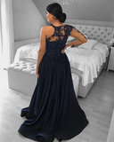 Luxurious One Shoulder Evening Dress Embellished With Beads,5669