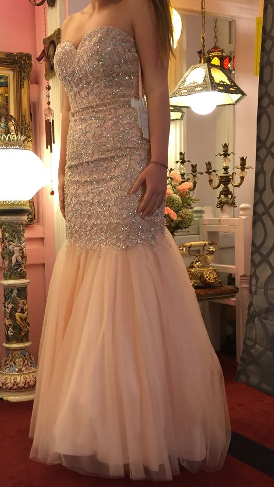 Charming Prom Dress,Sequin Prom Dress,Sweetheart Prom Dress,Mermaid Prom Dress.6039