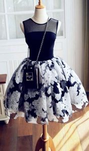 A-Line Homecoming Dresses,Short Prom Dresses,Cheap Homecoming Dresses,6313