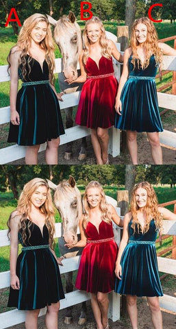 cute straps short homecoming dresses, homecoming dresses, dancing dresses,B0026