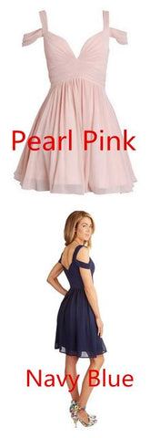 Ruched Chiffon Sweetheart Homecoming Dresses Prom Dresses,B0164
