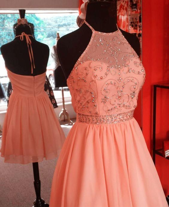 2019 Hoco Dress, Short Prom Dress, Back To School Dress Party Dress,8th Grade Formal Dress,B0183