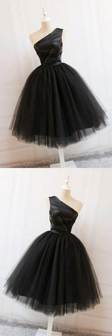 Cute Prom Dresses Cute Black Short Prom Dress, Black Homecoming Dress,B0229