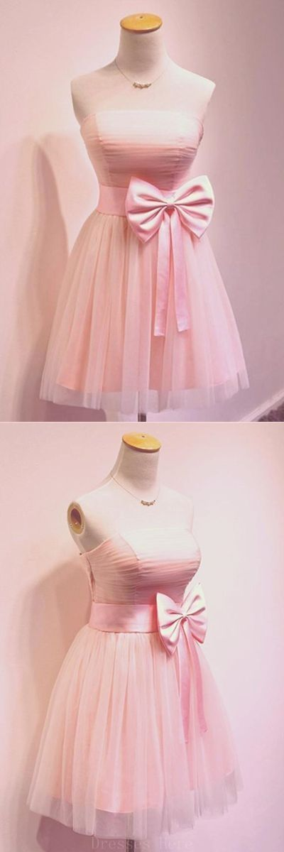 Prom Dresses Short, Pink Prom Dresses, Prom Dresses Simple Homecoming Dress,B0252