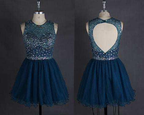 Short Prom Dress Short homecoming dress,B0599