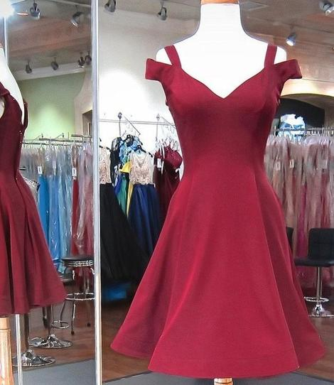 Simple Homecoming Dress , Fashion Short 8th Grade Dance Dress, Custom Made Sweet 16 Dress,B0605