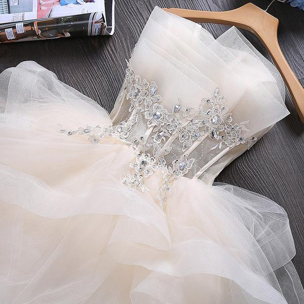 Lovely Tulle Short Party Dress, Cute Teen Junior Prom Dress 2019,B0620