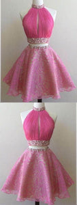 Homecoming Dresses Short,prom Dresses Short,homecoming Dresses Two Piece ,B0821